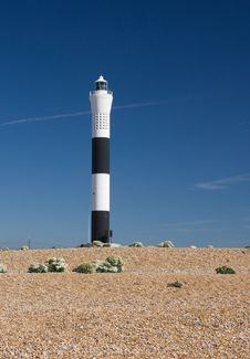 Free Lighthouse Against A Blue Sky Stock Photos - 14178093