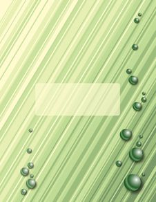 Free Green Diagonal Stripes Royalty Free Stock Photo - 14178125