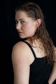 Pretty Lady Stock Photography