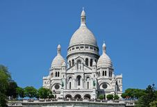 Basilique Du Sacre-Coeur Royalty Free Stock Photo