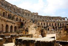 Free Colosseum Of El Jem Stock Photo - 14178650