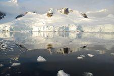 Icy Reflection Stock Image