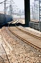 Free City Railway Stock Photography - 14183162