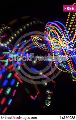 Free Light Show Royalty Free Stock Image - 14180286