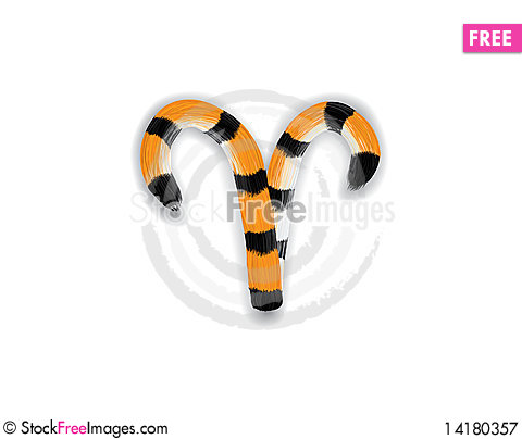 Free Aries_Tiger_Style Royalty Free Stock Photography - 14180357