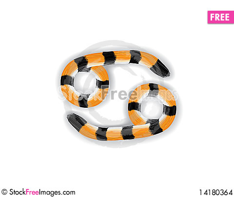 Free Cancer_Tiger_Style Stock Images - 14180364