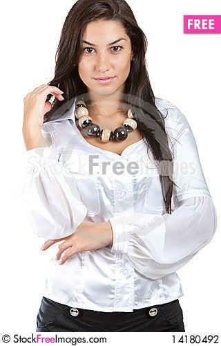 Free Beautiful Brunette Stock Photography - 14180492