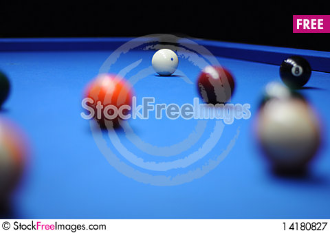 Free Billiard Ball Royalty Free Stock Photography - 14180827