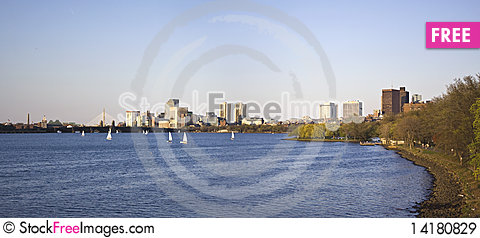 Free Charles River In Boston Royalty Free Stock Images - 14180829