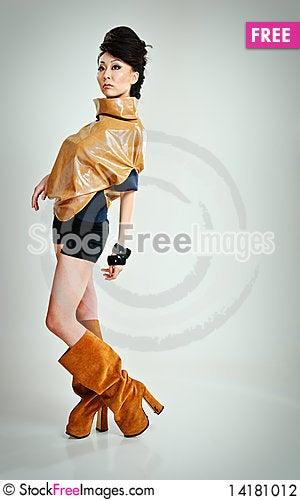 Free Beauty Asian Stock Photography - 14181012