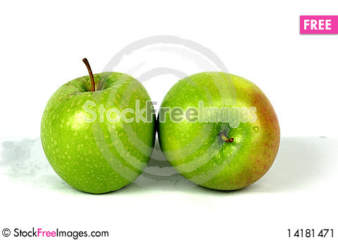 Free Green Apples Stock Image - 14181471