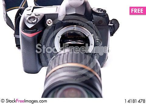 Free Digital 35mm Camera Royalty Free Stock Photos - 14181478