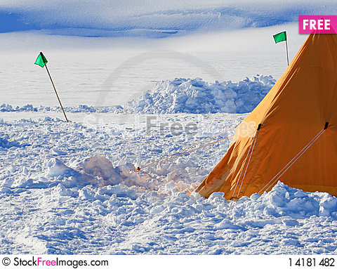 Free Ice Camp Stock Photography - 14181482