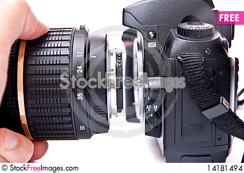 Free 35mm Camera Stock Images - 14181494