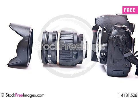 Free Digital Camera Royalty Free Stock Photos - 14181528