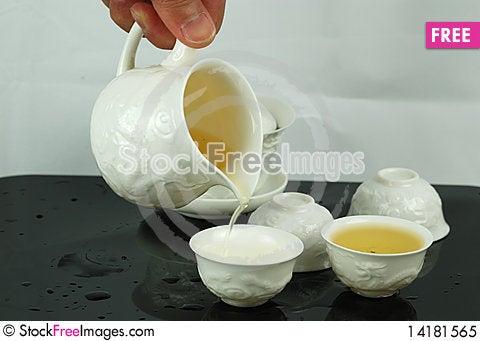 Free Chinese Kungfu Tea Royalty Free Stock Photo - 14181565