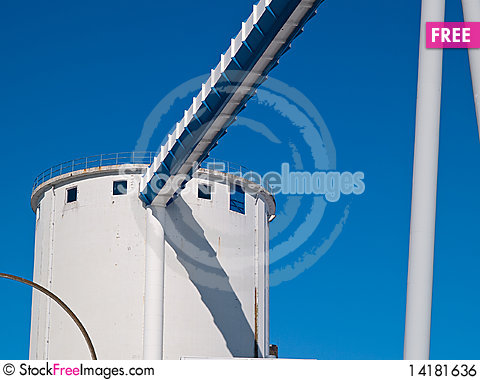 Free Factory Industry Background Image Royalty Free Stock Image - 14181636