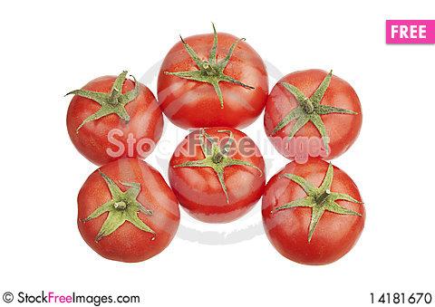 Free Group Of Tomatoes Stock Photo - 14181670