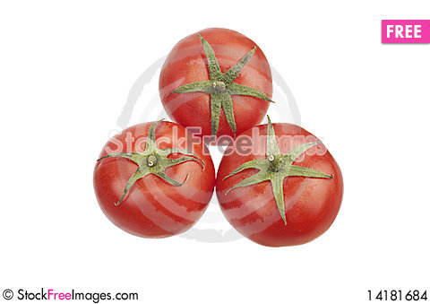 Free Three Tomatoes Stock Images - 14181684