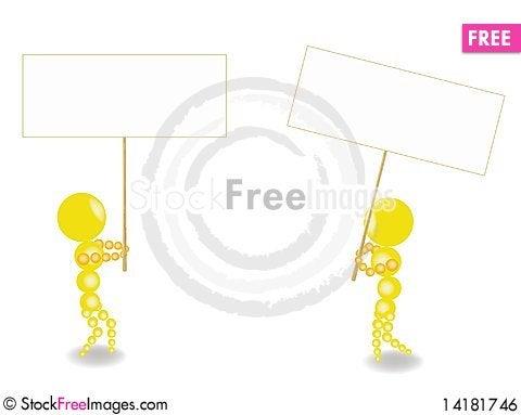 Free Striking Figures Royalty Free Stock Image - 14181746
