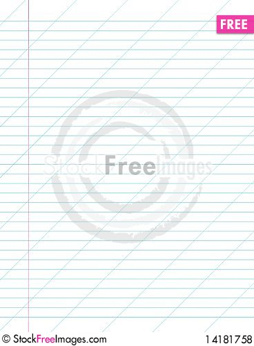 Free Sheet In A Slanting Line Royalty Free Stock Photos - 14181758