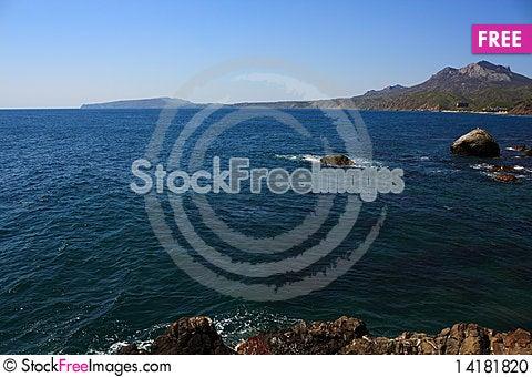 Free Rocky Coast. Photo 9744 Stock Photo - 14181820