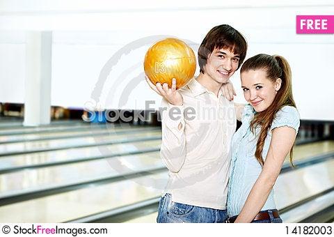 Free Portrait Of A Happy Couple Stock Photos - 14182003