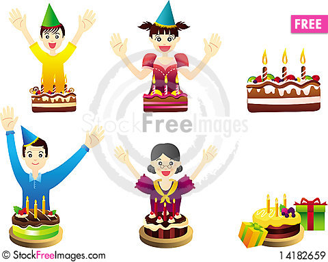 Free Birthday Party Celebration Royalty Free Stock Images - 14182659