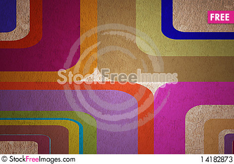 Free Abstract Curved Bands Stock Photos - 14182873