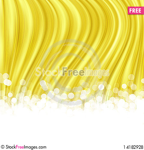 Free Gold Striped Background Royalty Free Stock Photos - 14182928