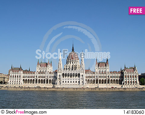 Free The Building Of The Hungarian Parliament Stock Photo - 14183060