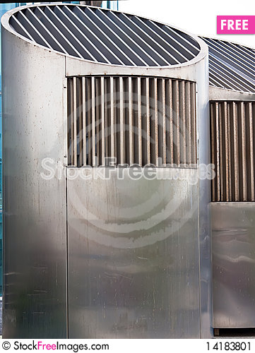 Free Two Ventilation Pipes Stock Image - 14183801
