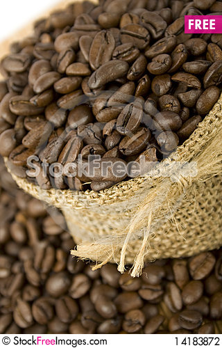 Free Coffee Beans Stock Photography - 14183872