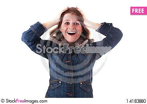 Free Attractive Woman Stock Photo - 14183880