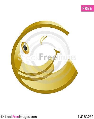 Free Merry Symbol Of Euro Stock Photography - 14183982