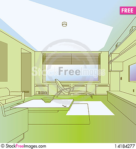 Free Interior Royalty Free Stock Photography - 14184277