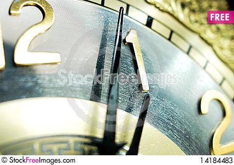 Free Clock Hands Stock Photos - 14184483
