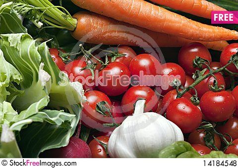Free Set Of Different Vegetables Royalty Free Stock Photos - 14184548