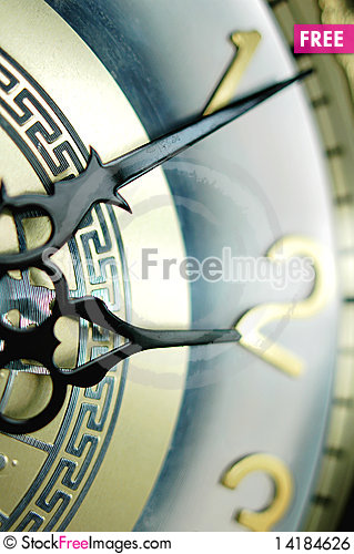 Free Clock Hands Royalty Free Stock Image - 14184626