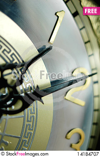 Free Clock Hands Royalty Free Stock Photography - 14184707