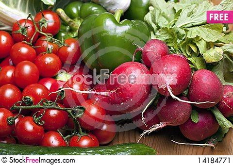 Free Set Of Different Vegetables Stock Image - 14184771