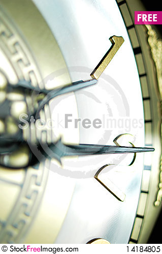 Free Clock Hands Blurred Royalty Free Stock Photo - 14184805