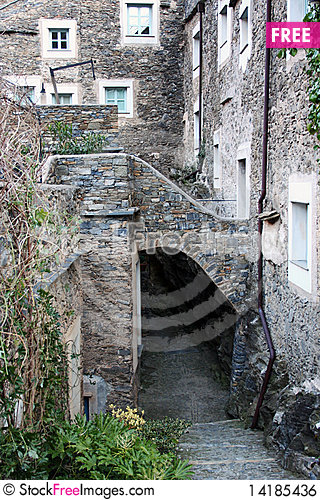 Free Living In A Small Stone Village Royalty Free Stock Image - 14185436