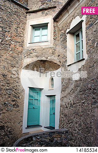 Free Dwarf S Houses With Colured Door Stock Images - 14185534