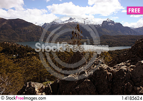 Free View At Bariloche Stock Images - 14185624