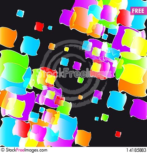 Free Color Lights Background. Stock Photos - 14185883