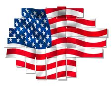 Free American Flag Royalty Free Stock Image - 14180206