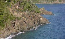 Island Coast Royalty Free Stock Photos