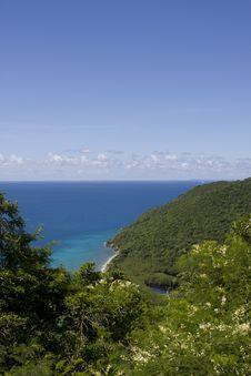 Free Hidden Beach Island Coast Stock Photos - 14180783