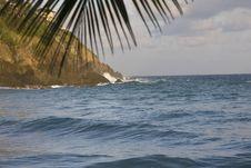 Ocean Coast View Royalty Free Stock Photo